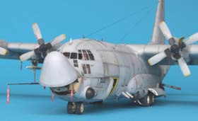 Hercules C-130 side view